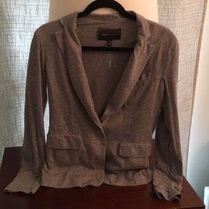 BCBGMax heather grey blazer.  Small